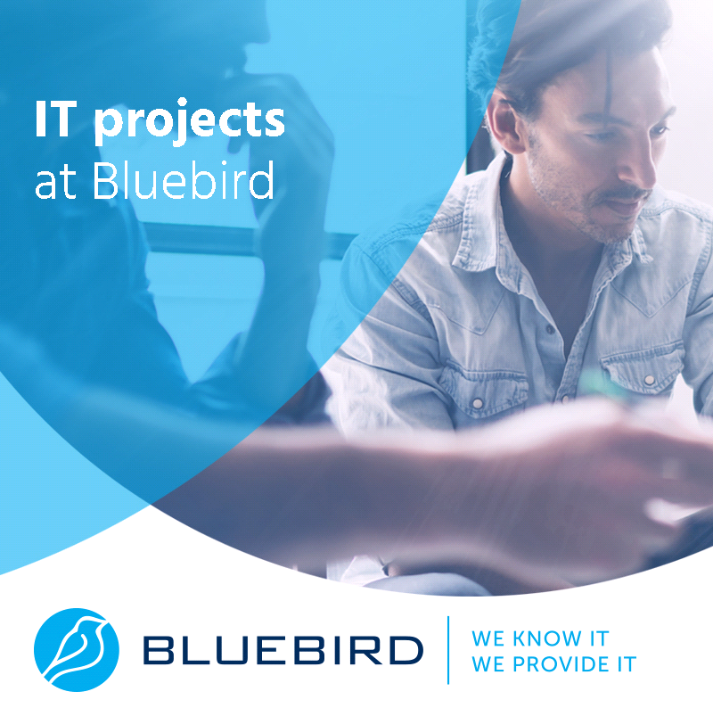 IT projects at Bluebird
